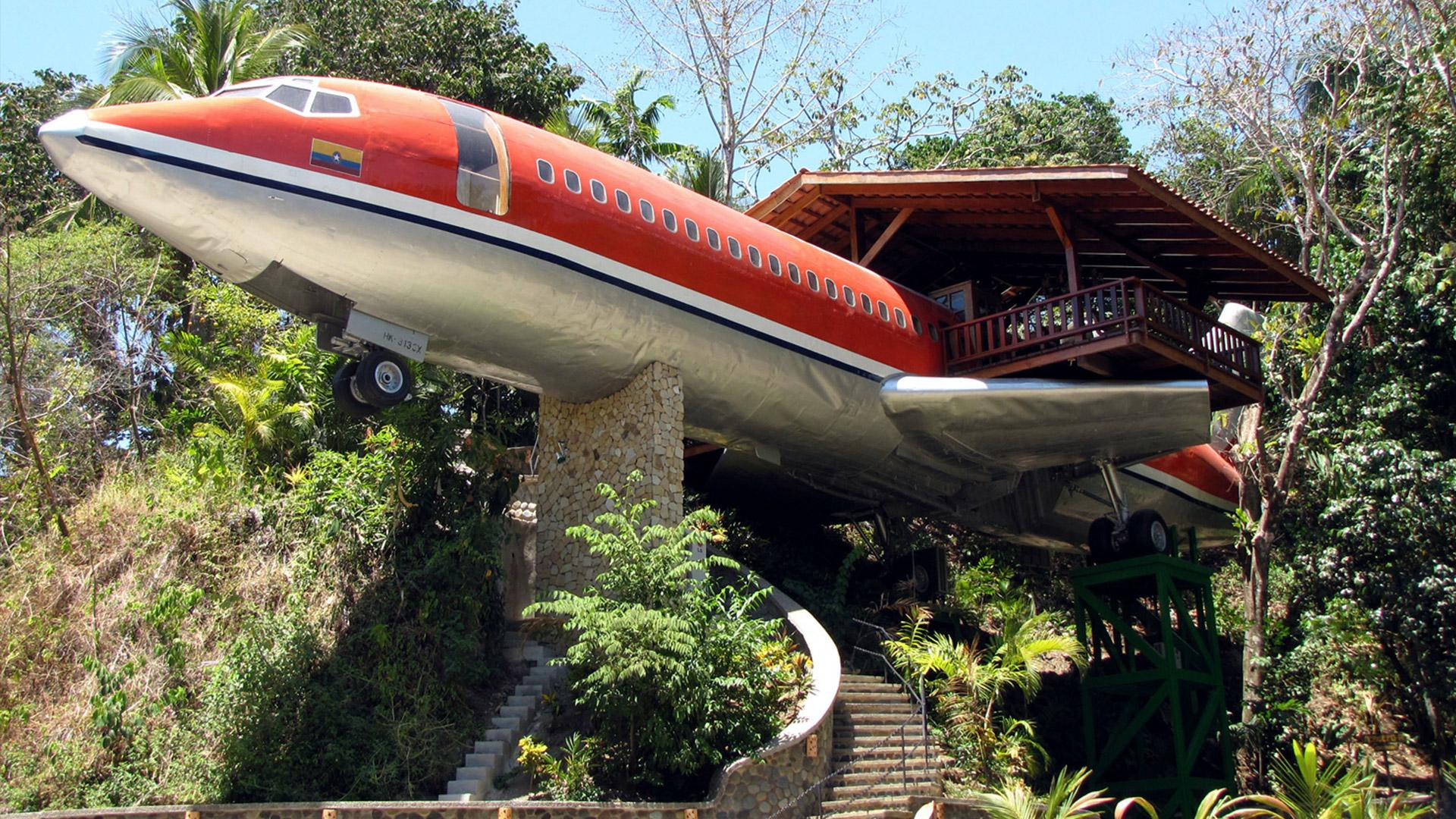 I 7 hotel più strani del mondo Costa Verde Hotel Costa Rica