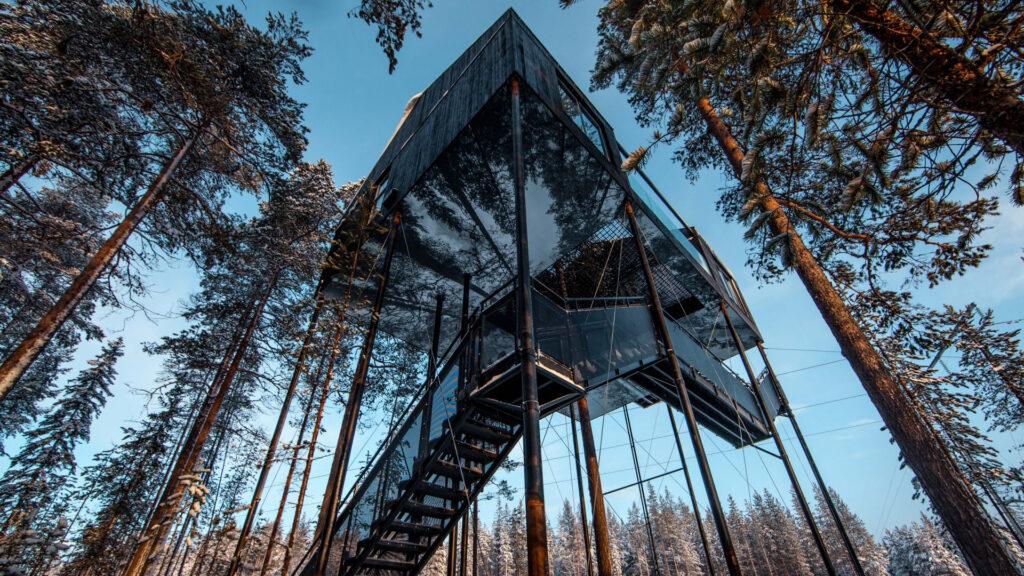 I 7 hotel più strani del mondo Treehotel Svezia