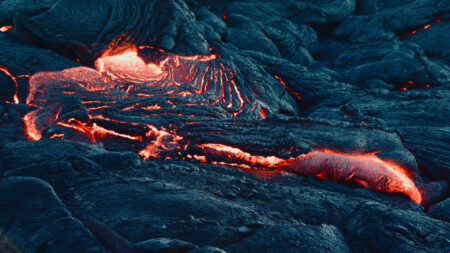 Il vulcano di Kilauea: il video in 4k