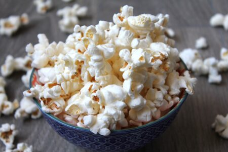 Il popcorn in slowmotion