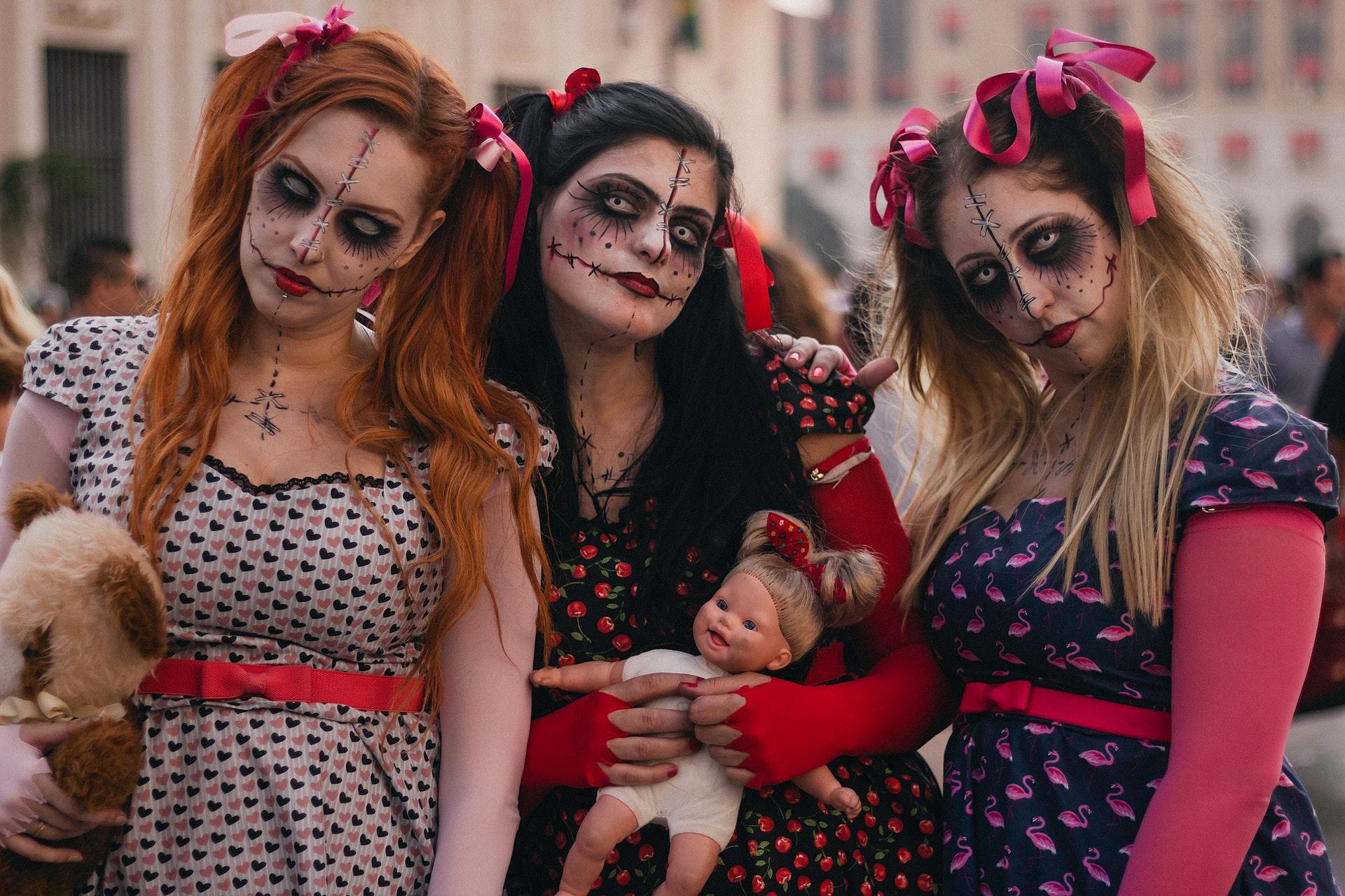 Siete pronti a sfoggiare un look da paura per Halloween?