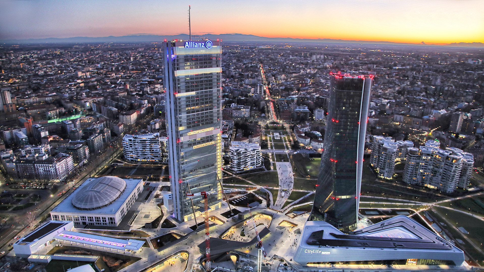 Il video in timelapse di CityLife Milano: 9 anni in 3 minuti