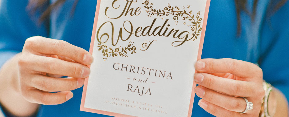 Realizzare la grafica delle partecipazioni di nozze